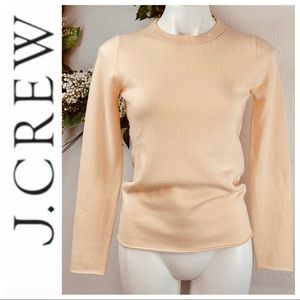 J. Crew 100% Cashmere long sleeve sweater